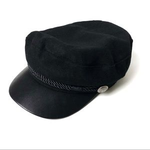 Black Cabby Hat
